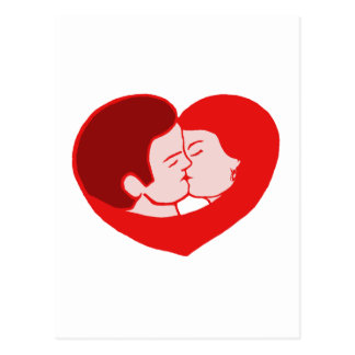 sexy love cartão postal