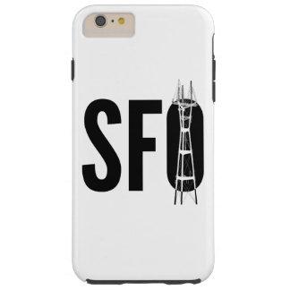 SFO: Capa de telefone da torre de Sutro