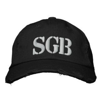 SGB afligiu o boné bordado da sarja de tipo de tel