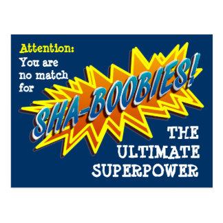 Sha-Boobies! Cartão