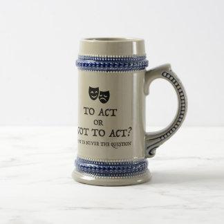 Shakespeare inspirou a caneca de cerveja
