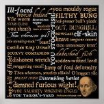 Shakespeare insulta a coleção posters