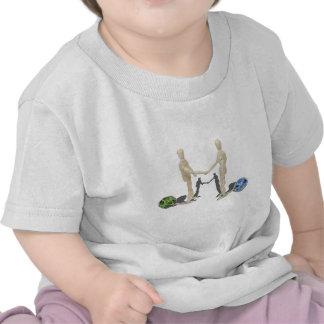ShakingBusinessAttachedFloats050512.png T-shirts