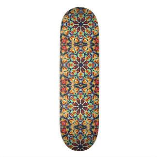 Shape De Skate 18,1cm Abstrato geométrico colorido