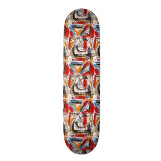 Shape De Skate 18,1cm Arte abstracta pintada terceira Olho-Mão