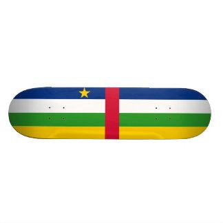 Shape De Skate 18,1cm Bandeira do representante da África Central.