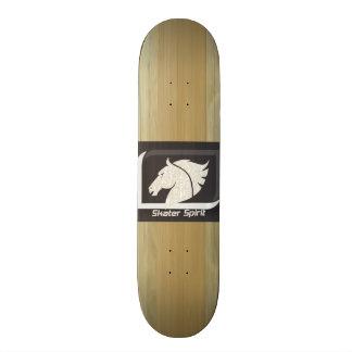 """Shape De Skate 18,1cm cobres Skaten /Skateboard, largura 7,87 """""""