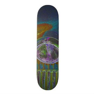 Shape De Skate 18,1cm Design de néon do Firetruck