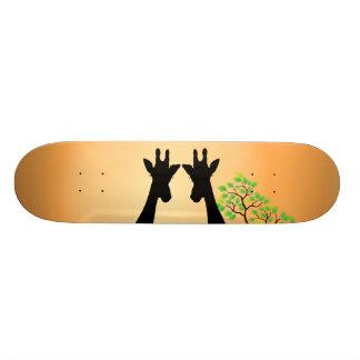 Shape De Skate 18,1cm Girafas longos do chicote