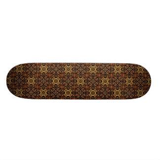 Shape De Skate 18,1cm Impressão geométrico tribal