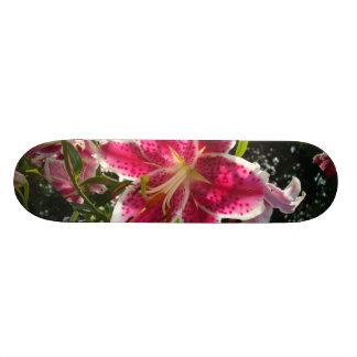 Shape De Skate 18,1cm Lírios de dia cor-de-rosa