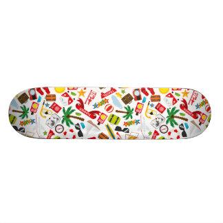 Shape De Skate 18,1cm Mar sul do viagem das férias de verão do teste