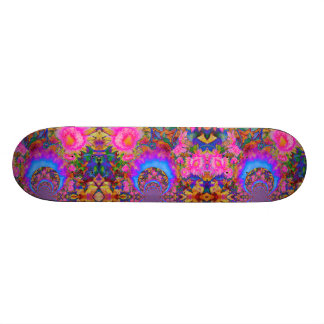Shape De Skate 18,1cm O girassol coloca para sempre - o rosa