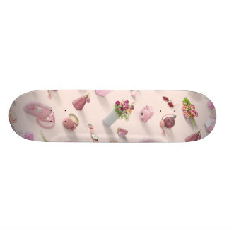 Shape De Skate 18,1cm O sonho cor-de-rosa da menina