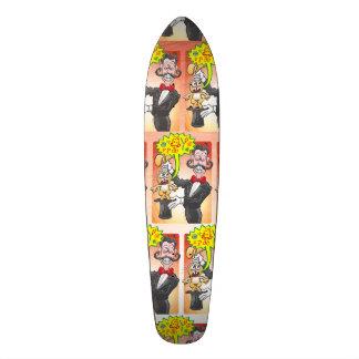Shape De Skate 18,1cm Sentimento do coelho do mágico louco e que diz
