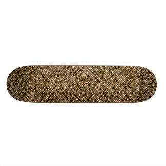 Shape De Skate 18,1cm Teste padrão Ornamented de madeira