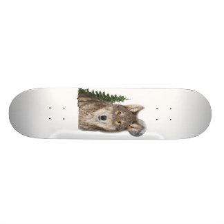 Shape De Skate 18,4cm arte do lobo