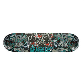 Shape De Skate 18,4cm cobres -Cooles grafitti monopatim