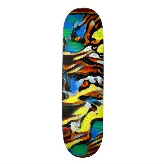 Shape De Skate 18,4cm Conselho feito sob encomenda do elemento zero