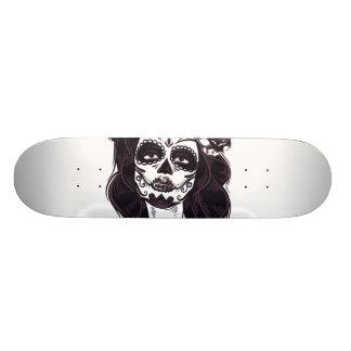 Shape De Skate 18,4cm Crânio gótico