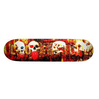 Shape De Skate 18,4cm Crânios do inferno