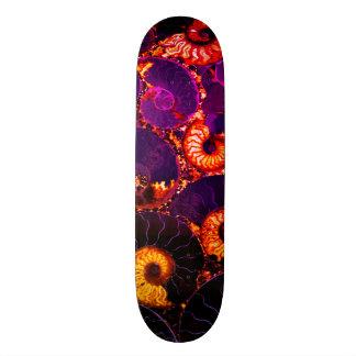 Shape De Skate 18,4cm Design do escudo do nautilus