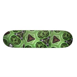 Shape De Skate 18,4cm Design verde de FriedlanderWann da máquina