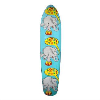 Shape De Skate 18,4cm Elefante irritado do circo que diz palavras más