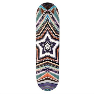 Shape De Skate 18,4cm Estrela espectral abstrata