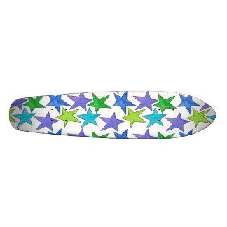 Shape De Skate 18,4cm Estrelas da cor