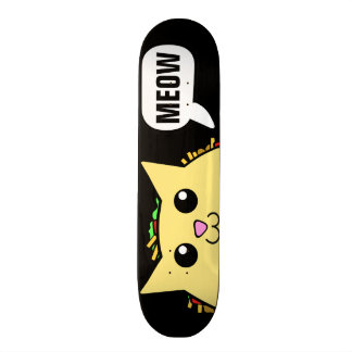 Shape De Skate 18,4cm Gato do Taco