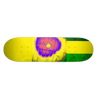 Shape De Skate 18,4cm Grunge de LooneySkull-: Foco