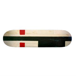 Shape De Skate 18,4cm Linhas e marcações do campo de básquete