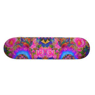 Shape De Skate 18,4cm O girassol coloca para sempre - o rosa