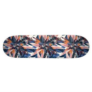 Shape De Skate 18,4cm Pintura pointy moderna elegante da arte da folha