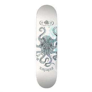 Shape De Skate 18,4cm Polvo - clube 76 de sal - para baixo pelo mar
