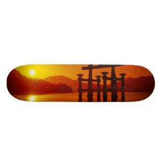 Shape De Skate 18,4cm Porta de O-Torii, santuário de Itsukushima,