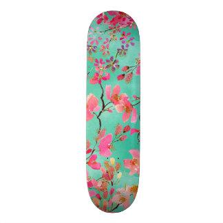 Shape De Skate 18,4cm Primavera elegante da aguarela da pintura da mão