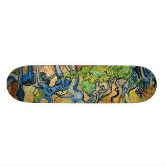 Shape De Skate 18,4cm Raizes da árvore por Vincent van Gogh (em julho de