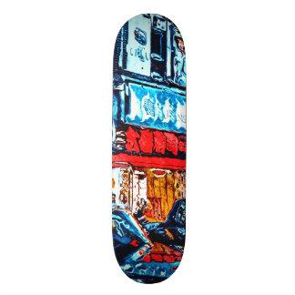 Shape De Skate 18,4cm Reflexões de néon