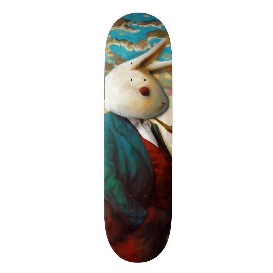 Shape De Skate 18,4cm Rei branco Costume Pro Slider Embarque da rua do