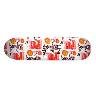 Shape De Skate 18,4cm Rua louca
