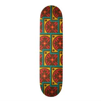 Shape De Skate 18,4cm Teste padrão da tapeçaria