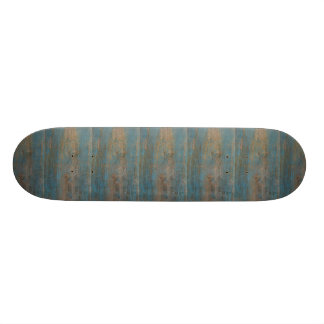 Shape De Skate 18,4cm Textura azul da madeira da praia