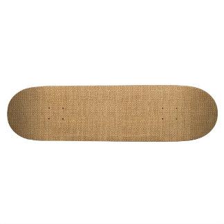 Shape De Skate 18,4cm Textura rústica floral simples de serapilheira