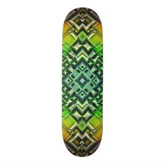 Shape De Skate 18,4cm Tons geométricos da terra