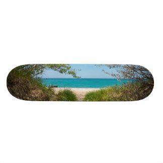 Shape De Skate 18,4cm Tranquilidade do Lago Michigan
