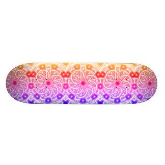 Shape De Skate 18,4cm Verão Sun