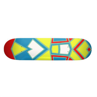 Shape De Skate 18,7cm #571 abstrato