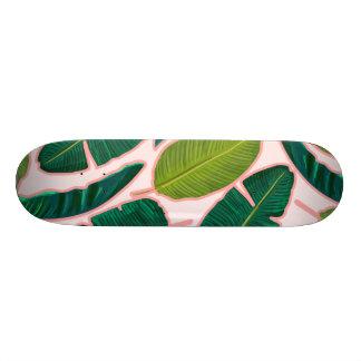 Shape De Skate 18,7cm A folha da banana cora